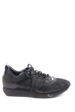 Bikkembergs Sneaker stringata nero stile casual
