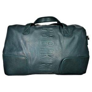 Bikkembergs Weekender Bag cadet blue-olive green mixture fibre