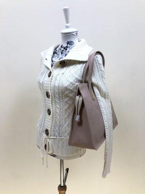 Bildschöne cremeweiße kuschelige Strickjacke XS 34 Jacke Cardigan NEU ❤️