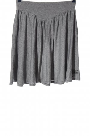 Billabong Jupe évasée gris clair moucheté style décontracté