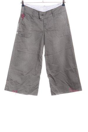 Billabong Pantalone a 7/8 grigio chiaro stile casual