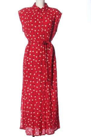 Billabong Abito blusa rosso stampa integrale stile casual