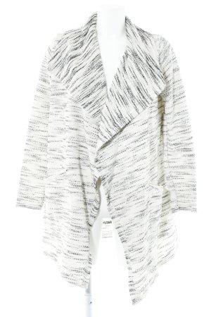 Billabong Cardigan blanc cassé-noir Motif de tissage style décontracté