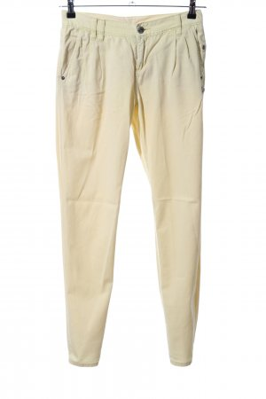 Billabong Chinohose blassgelb Casual-Look