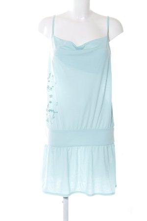 Billabong Robe découpée bleu imprimé avec thème style décontracté