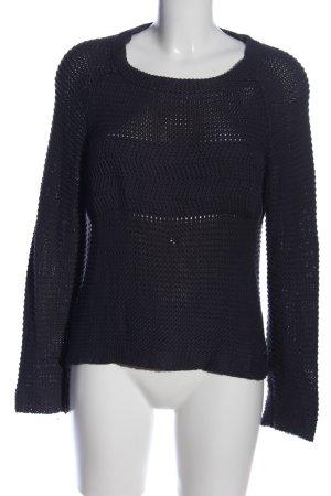 Billabong Pull en crochet noir style décontracté