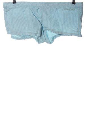 Billabong Krótkie szorty niebieski-biały Na całej powierzchni W stylu casual