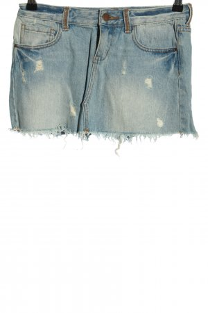 Billabong Jeansrock blau Casual-Look