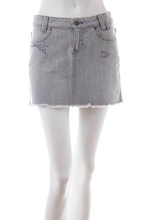 Billabong Jupe en jeans multicolore coton