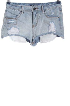 Billabong Pantaloncino di jeans blu stile casual