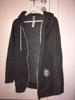 billa bong Hoody grey-white