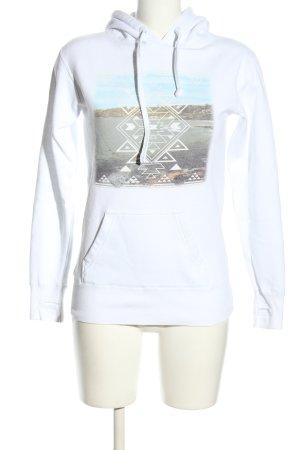 Billabong Hooded Sweatshirt printed lettering casual look