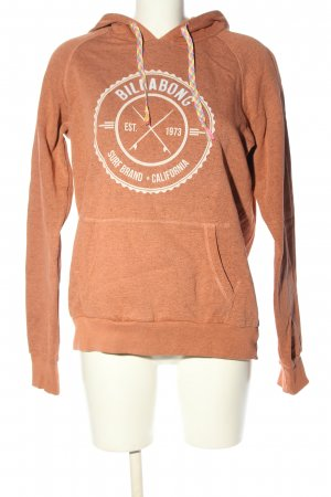 Billabong Kapuzensweatshirt nude-wollweiß Motivdruck Casual-Look
