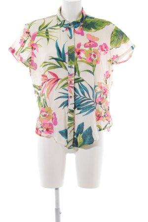 Billabong Kurzarm-Bluse Blumenmuster schlichter Stil