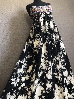 Billabong Sukienka z dekoltem typu bandeau Wielokolorowy Wiskoza