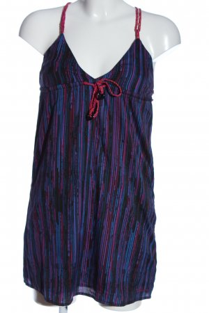 Billabong Minikleid lila-blau Allover-Druck Casual-Look