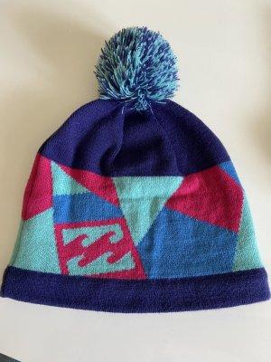 Billabong Sombrero de tela azul neón-violeta azulado