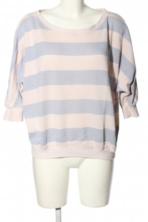 Billabong Oversized Pullover hellgrau-wollweiß Streifenmuster Casual-Look