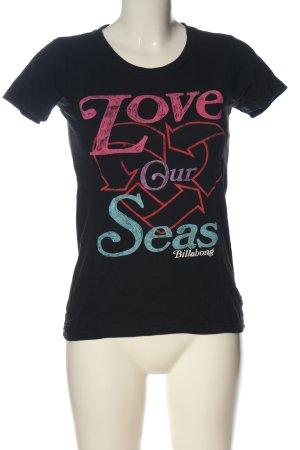 Billabong Print-Shirt Schriftzug gedruckt Casual-Look