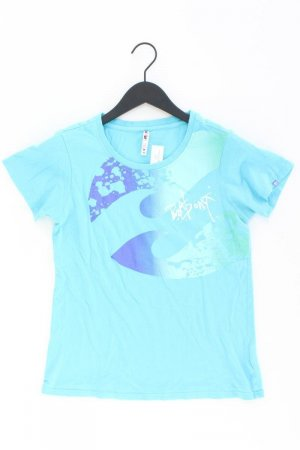 Billabong T-Shirt blue-neon blue-dark blue-azure cotton