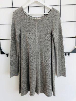 Billabong Skaterkleid kurzes Kleid grau meliert Minikleid