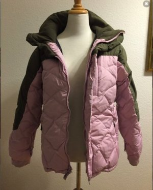 Billabong Winter Jacket green grey-dusky pink