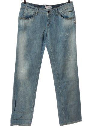 Billabong Jeans coupe-droite bleu style décontracté