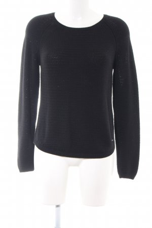 Billabong Strickpullover schwarz Casual-Look