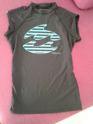 Billabong Sports Shirt black-turquoise