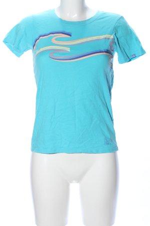 Billabong T-Shirt Streifenmuster Casual-Look