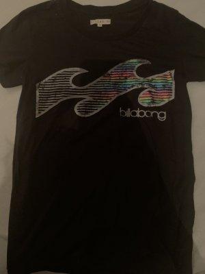 Billabong T-Shirt mit Regenbogen-Print