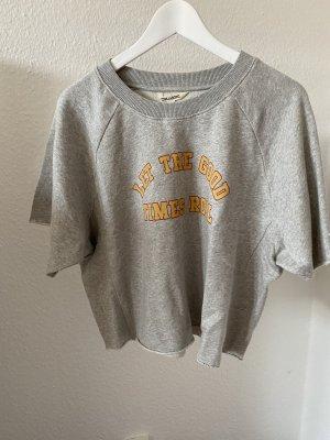 Billabong Cropped shirt lichtgrijs