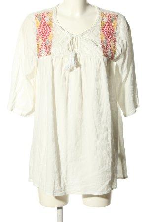 Billabong Blusa a tunica bianco stile casual