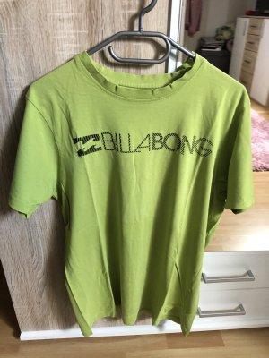 Billabong Koszulka z nadrukiem zielona łąka