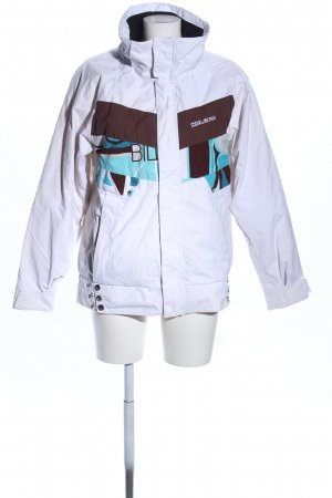 Billabong Windstopper weiß abstraktes Muster Casual-Look
