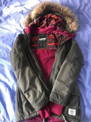 Billabong Winter Jacket khaki-dark red