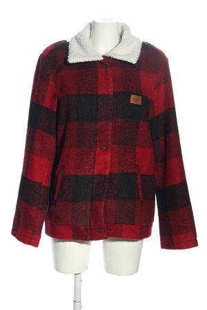 Billabong Winter Jacket red-black allover print casual look