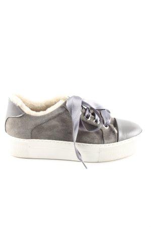 Billi Bi Absatz Sneaker hellgrau-weiß Casual-Look