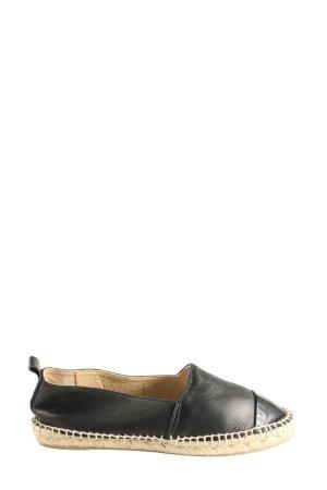 Billi Bi Espadrilles-Sandalen schwarz Casual-Look