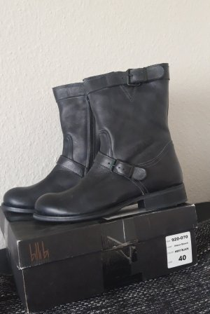 Billi bi Lederstiefel 40 neu Biker Stiefelette Stiefel Boots