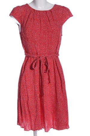 Billie & Blossom Sukienka z krótkim rękawem czerwony-biały W stylu casual