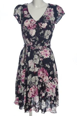 Billie & Blossom Jurk met korte mouwen volledige print casual uitstraling