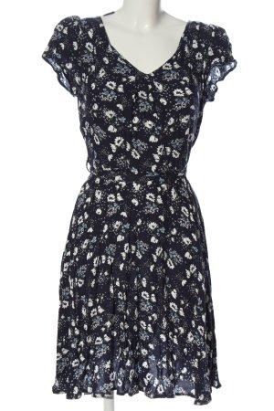 Billie & Blossom Sukienka z krótkim rękawem niebieski-biały W stylu casual