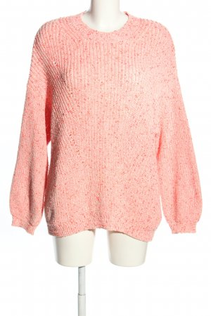 Bimba & Lola Grobstrickpullover nude Zopfmuster Casual-Look