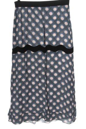 Bimba & Lola Spódnica midi niebieski-różowy Na całej powierzchni