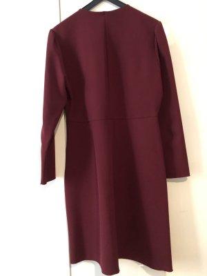 BIMBA Y LOLA Kleid Bordeaux Rot