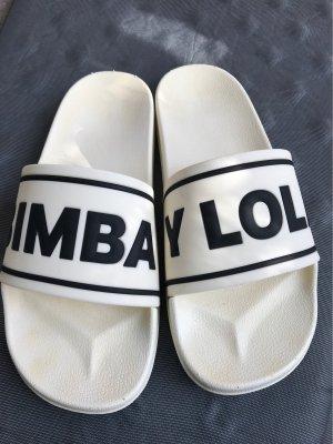 Bimba & Lola Flip flop sandalen wit-donkerblauw