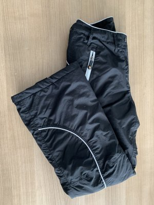 Bon Prix Pantalone da ginnastica nero-bianco