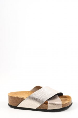 BIO life Comfort Sandals gold-colored casual look
