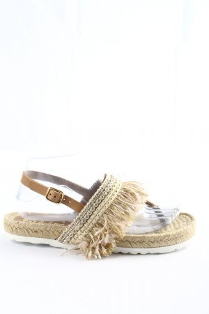 Biostep Toe-Post sandals natural white casual look